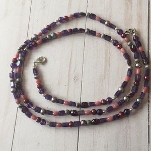 "Carolyn Pollack 36"" Beaded Necklace"